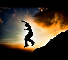 [7/365] OK! GO! (pooldodo) Tags: sunset selfportrait 35mm canon eos jump mark ii 5d f2 canonef35mmf2 自拍 hdr 軍艦岩 ef35mm nymu 5dmarkii 5d2 doublyniceshot pooldodo