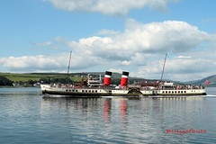 Waverley arriving in Rothesay (4816) (billyofbute) Tags: waverley rothesay isleofbute billyofbute