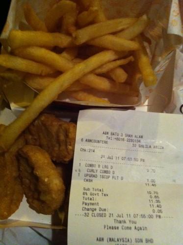 A&W Fries