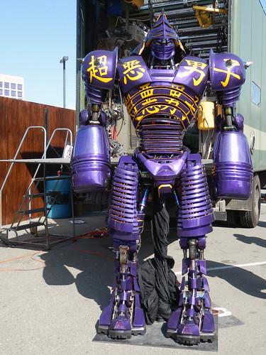 Real Steel Noisy Boy Robot Comic Con 11