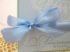 Sapphire Anniversary Bow