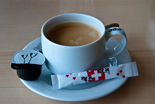 Bond Coffee with Swiss Sugar.