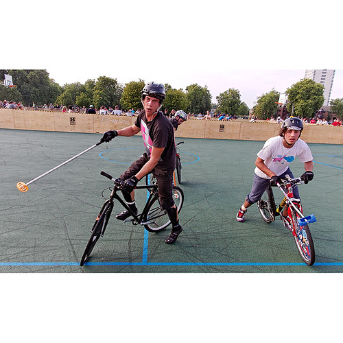 London Open Bike Polo Tournament