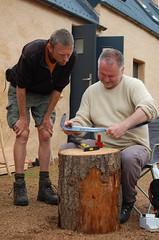 scythe peening in Scotland