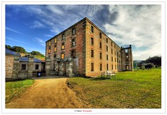 Port Arthur (The Prison) (Damon | Photography) Tags: trip travel blue summer sky cloud lighthouse seascape clouds port landscape photography arthur photo high nikon dynamic angle photos wide sigma australia wideangle prison tasmania gail mm dynamicrange scape range 1020 damon hdr highdynamicrange portarthur sigma1020mm travelphotography 2011 d90 photomatix eddystone highdynamic nikond90