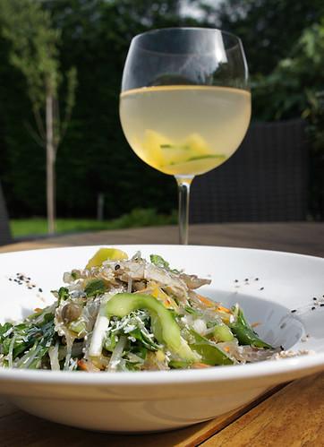 Glasnoodle-salade van Kasia Vermaire