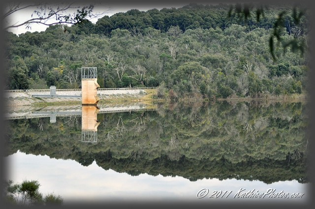 Lysterfield Lake on a still day