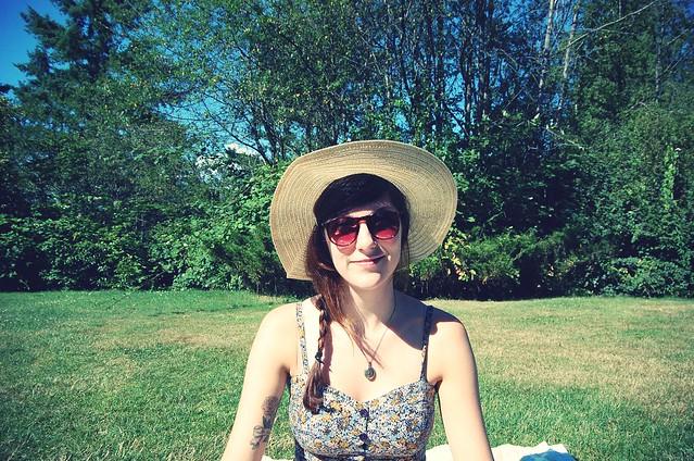 picnic smile.