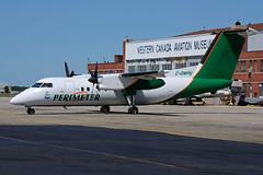 C-GWPS (Perimeter Aviation) (Steelhead 2010) Tags: ywg creg perimeter dhc8 dash8 dehavilland cgwps dhc8100
