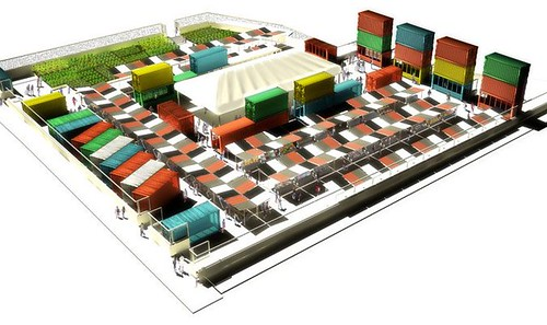 DeKalb Market rendering (by: Urban Space and Young Woo & Associates, via DeKalb Market)
