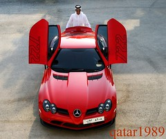 My New Red Friend.. SLR-722 (qatar1989) Tags: red slr flickr doha qatar 722 8608 rayyani qatar1989