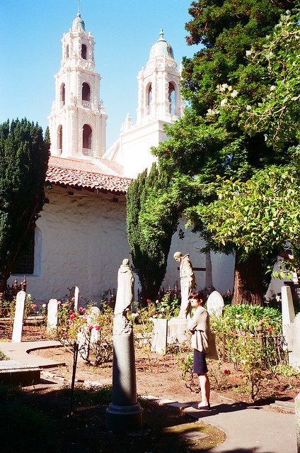 Continued Vertigo Tour from 2008: Mission Dolores graveyard
