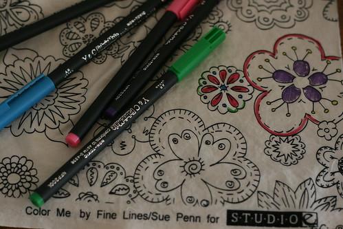 Fabric Mate Pens
