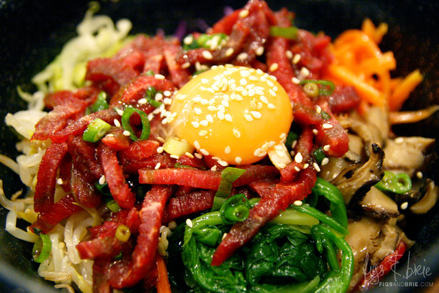 Dolsot Steak Tartare, Min Sok Chon