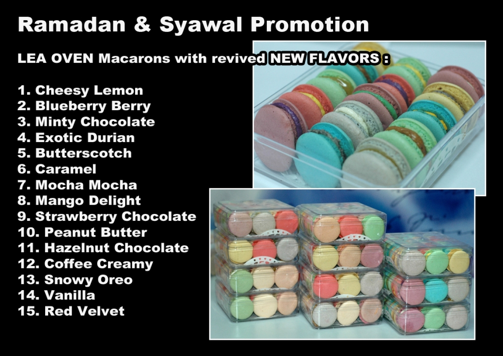 macarons flavor