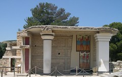 Crete Colours - The Palace of Knossos - The Corridor of the Procession (Pushapoze - getting better) Tags: greece crete southpropylaia thepalaceofknossos