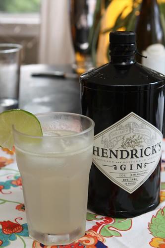 Hendrick's Gin Gimlet