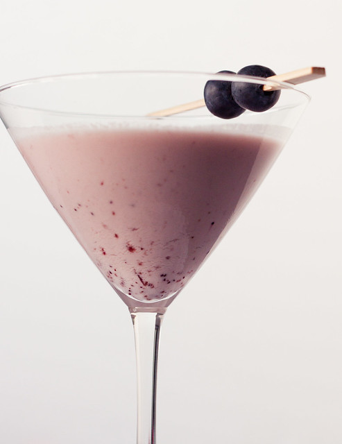 Blueberry Cheesecake Martini
