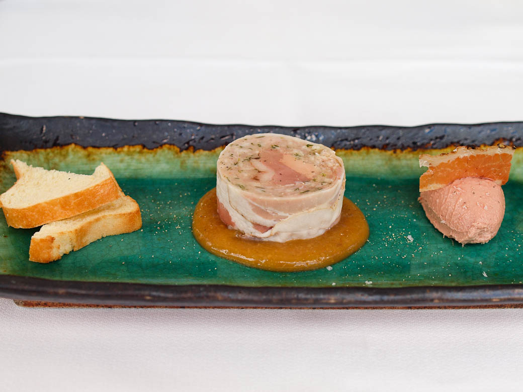 Taxi Dining Room - Foie gras plate
