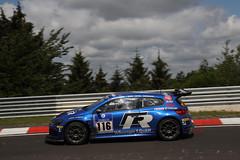 Volkswagen Scirocco op Nrburgring (Volkswagen Nederland) Tags: blauw volkswagens scirocco nrburgring zijkant gt24cng