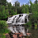 Bond Falls -  Paulding Michigan  (Middle Branch Ontonagon River)