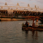 hackney canal and olympic games