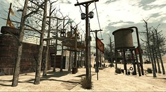 The Wastelands, Post Apocalypse in SL : Fort Stygian - liqueur.felix (Liqueur Felix) Tags: postcard secondlife koinup fortstygian Koinup:Username=liqueur liqueurfelix Koinup:WorkID=379417