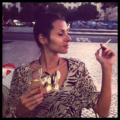 Ginger Ale e cigarros na Baixa-Chiado