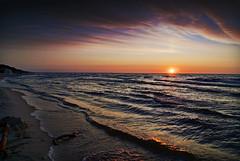 (tomson.pl) Tags: sunset sea poland polish 230 zachd soca dlsr morze batyk batyckie baltic