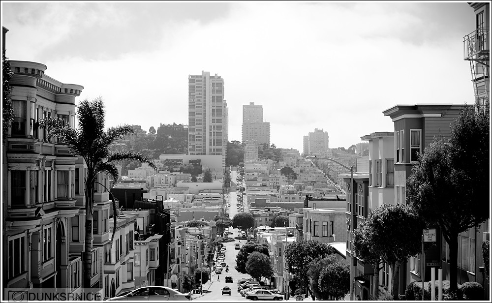 San Francisco, B&W.