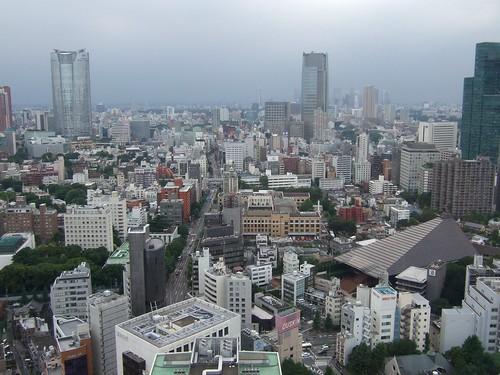 0280 - 09.07.2007 - Mirador Torre Tokyo (Roppongi Hills izq)
