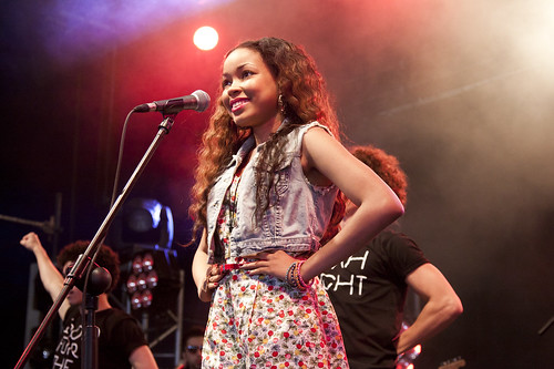 Dionne Bromfield @ Big Chill Festival 2011