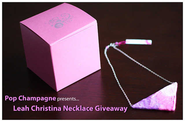 leah christina jewelry giveaway logo