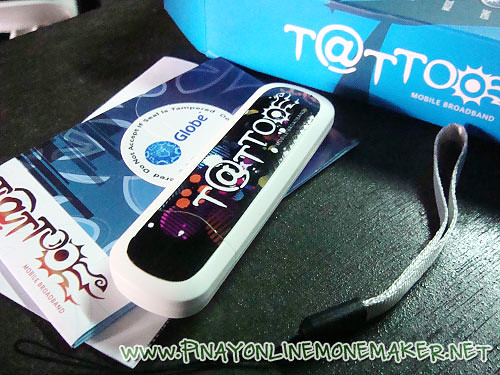 Glone Tattoo mobile broadband stick I won from Yugatech's giveaway