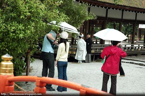 Kamigamo-jinja 上賀茂神社 - Hashidono