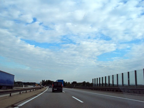 Preparation for Road trip: Budapest to Cologne, Lots of Clouds in Germany