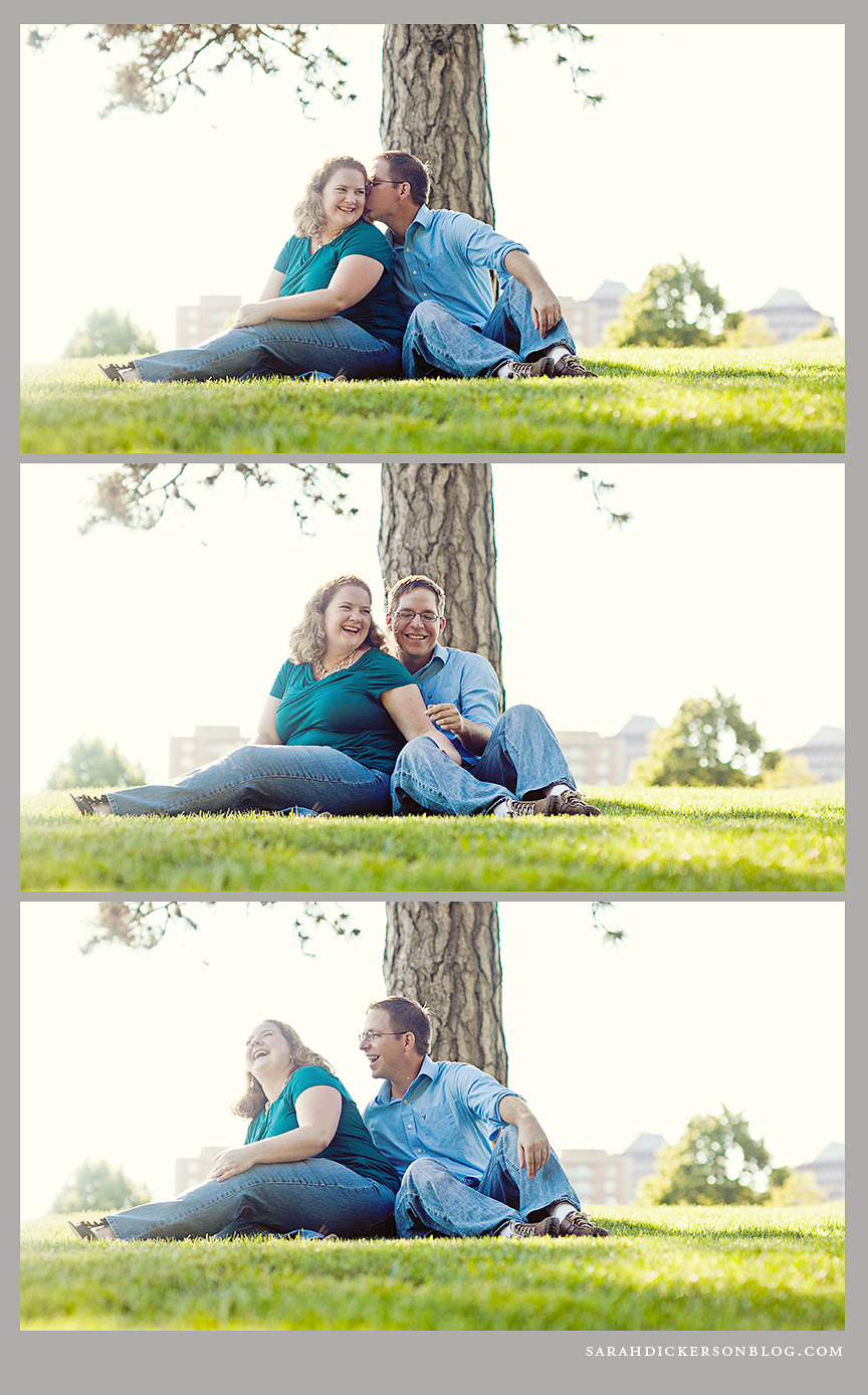 Nelson-Atkins Museum of Art engagement photos
