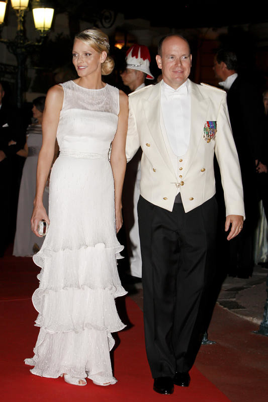 HSH Princess Charlene and HSH Prince Albert II