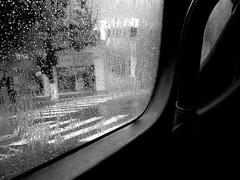 1 (pedropapini) Tags: white black bus glass rain