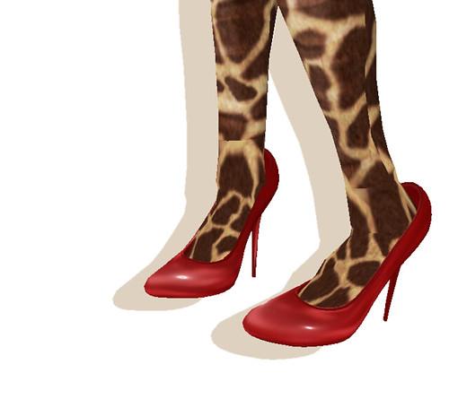 +9 High Heels -red enamel(BOXED)