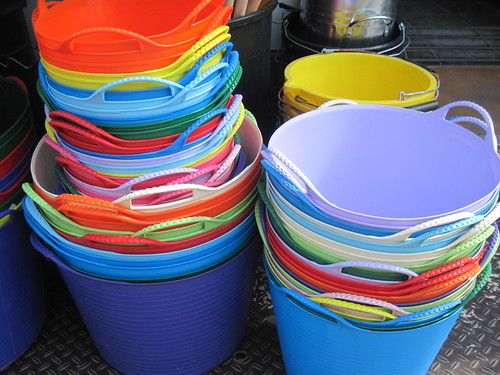 Colourful Buckets