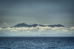 Corsica from the sea