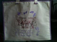 """Vamos às compras em Paris! (""""Feltro Flor"""") Tags: quilt patchwork bolsa bolsas aula molde tecido bordado costura necessaire"""