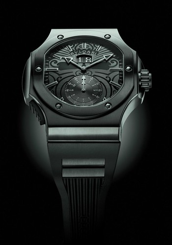 Bulgari Endurer Chronosprint All Blacks pictures