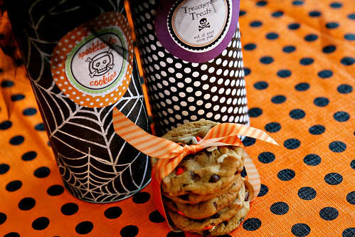 Pringles Can Halloween Craft 2
