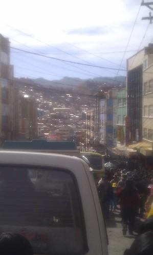 Crowded in La Paz