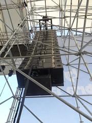 Umbria Jazz 11 - main cluster: Adamson Y18 array system (Arena Santa Giuliana)
