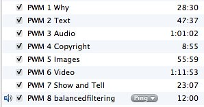 Converted Text Files iniTunes