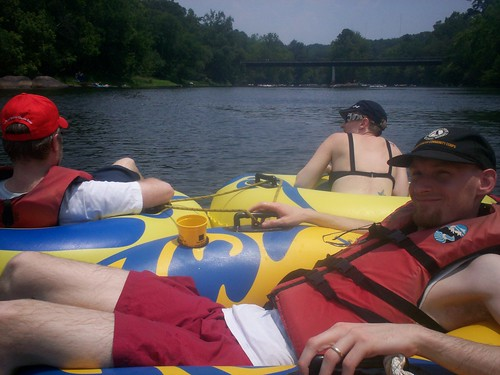 tubing on the saluda river