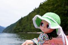 Sunbathing on the House Boat